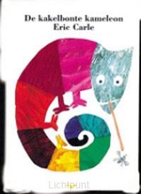 Kakelbonte kameleon karton editie