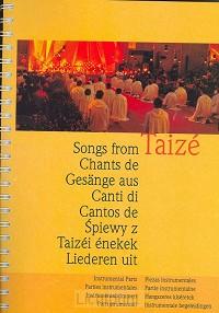 Liederen uit taize muziekboek
