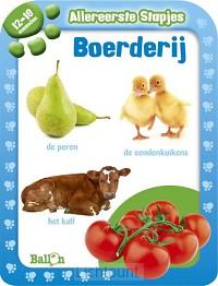 Babys eerste boek boerderij 12-18 maand