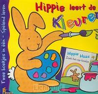 Kartonboek hippie leert de kleuren