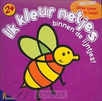 Kleurboek ik kleur netjes honingbij