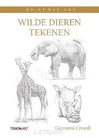 Kunst van wilde dieren tekenen