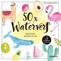 50 x waterverf