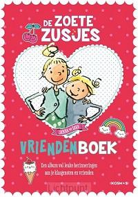 Zoete zusjes vriendenboekje
