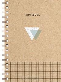 Kraftspiraalboek klein (lijnen)