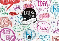 Letterfun schetsboek