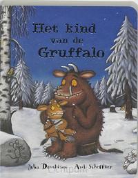 Kind van de gruffalo kartonboek