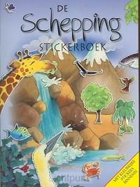 Schepping stickerboek