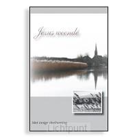 Wenskaartenboekje Jezus weende