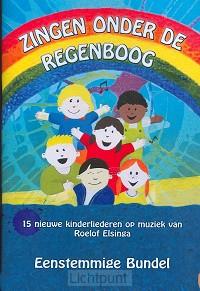 Zingen onder de regenboog eenstemmig