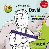 Kleurboek op weg met david