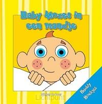 Baby mozes in een mandje