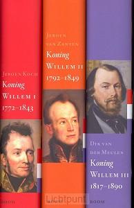 Koningsbiografieën Willem 1, 2 & 3 GEB