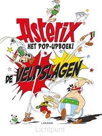 Asterix de veldslagen pop-upboek
