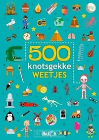 500 knotsgekke weetjes blauw
