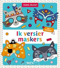 Maskers blauw 3+
