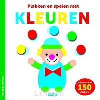 Kleuren stickerboek