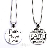 Ketting faith hope love