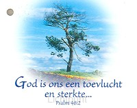 Kadokaartje psalm 46:2