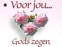 Kadokaartje voor jou Gods zegen