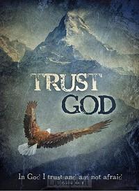 Wandbord A3 trust God