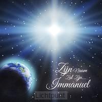 Kerstkaart zijn naam zal zijn Immanuel