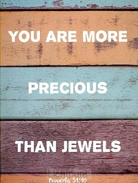 Kaart you are more precious than jewels