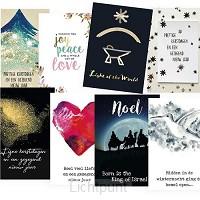 Voordeelpakje 2 kerst 2x8 kaarten