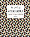 Geweldige vriendenboek voor volwasse