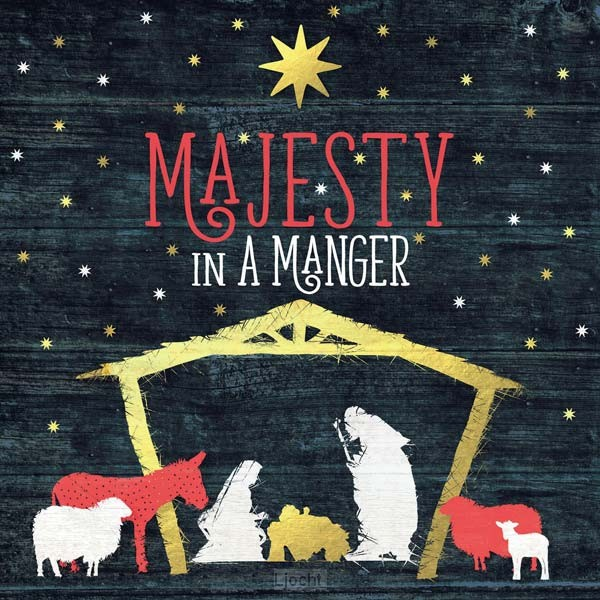 Majesty in a manger