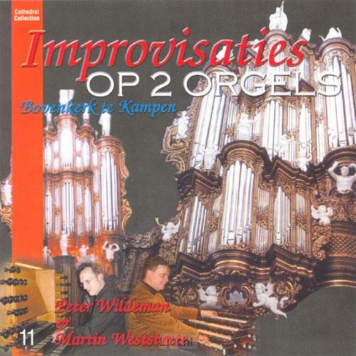Improvisatie op twee orgels