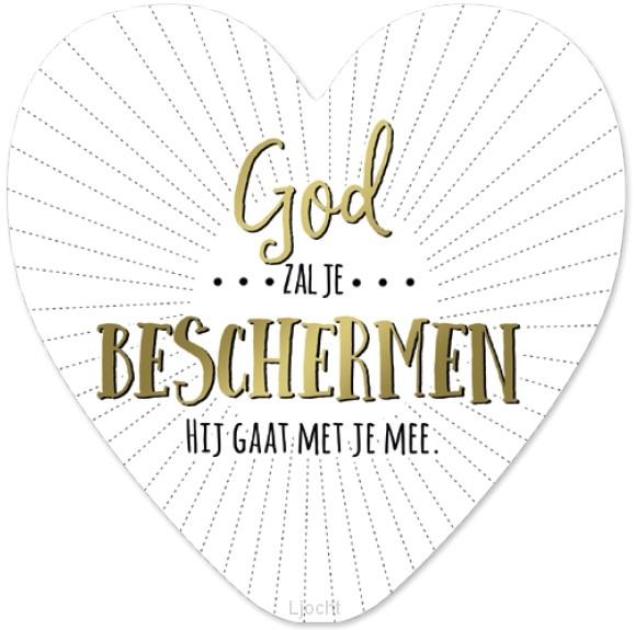 God zal je beschermen