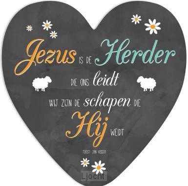 Jezus is de Herder