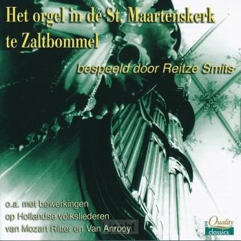 Het orgel in de St. Maartenskerk