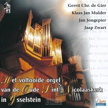 Het voltooide orgel van de Oude