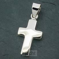 Zilveren Hanger Kruis 2 cm