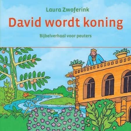 David wordt koning, kartonboek