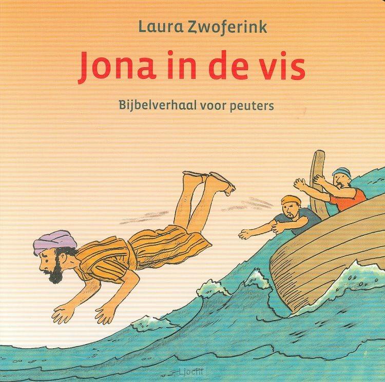 Jona in de vis kartonboekje