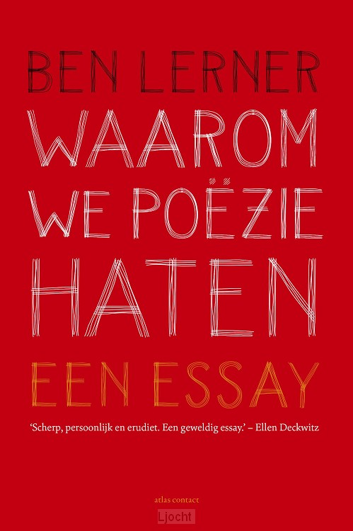 Waarom we poëzie haten