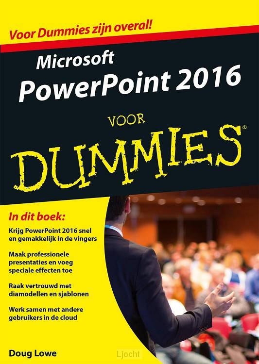Microsoft PowerPoint 2016 voor Dummies