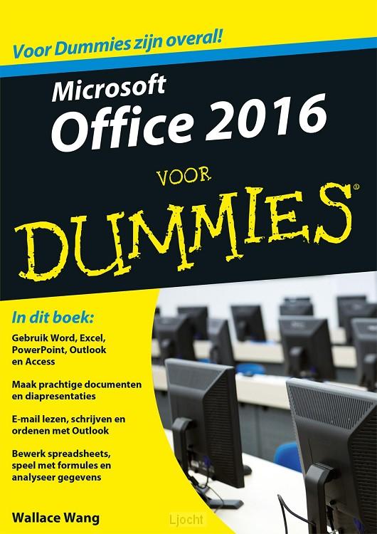 Microsoft Office 2016 voor Dummies