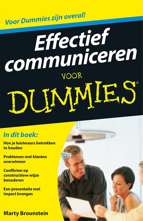Effectief communiceren voor Dummies