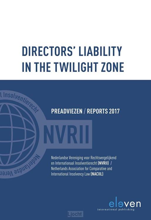 Directors liability in the twilight zone