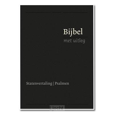 Bijbel bmu klein zwart flex goud