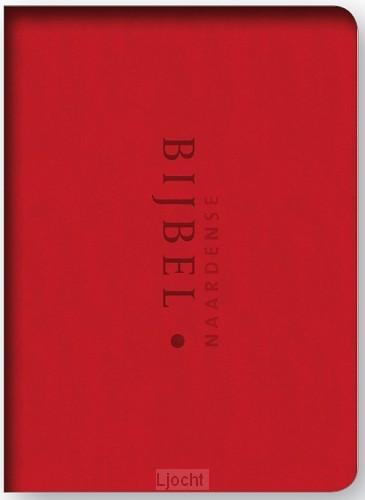 Naardense bijbel 2014 rood + foedraal