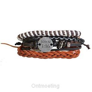 Bracelet - Faith gear - John 3:16