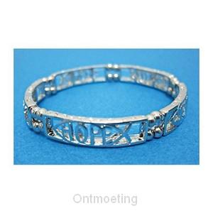 Bracelet faith/hope