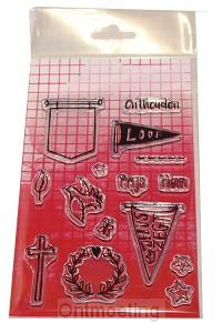 Clearstamps Biblejourn alfabet (banner)