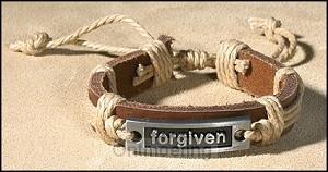 Bracelet leather forgiven