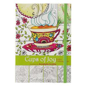 Pocket coloring, 3:16, Cups of joy